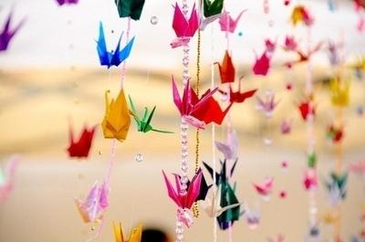 colours-crane-origami-paper-pretty-Favim