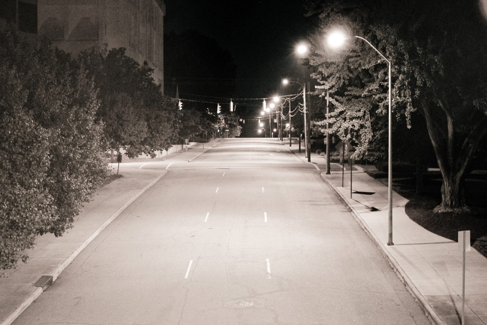 Empty Streets - Raleigh, NC   From our Raleigh photo services studio, Haeck Design offers a wide range of photography and photo editing services.