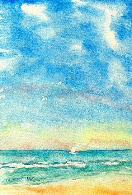 4dab2cd77df96a8b1e3ee21f3004afc1--watercolor-ocean-watercolor-painting