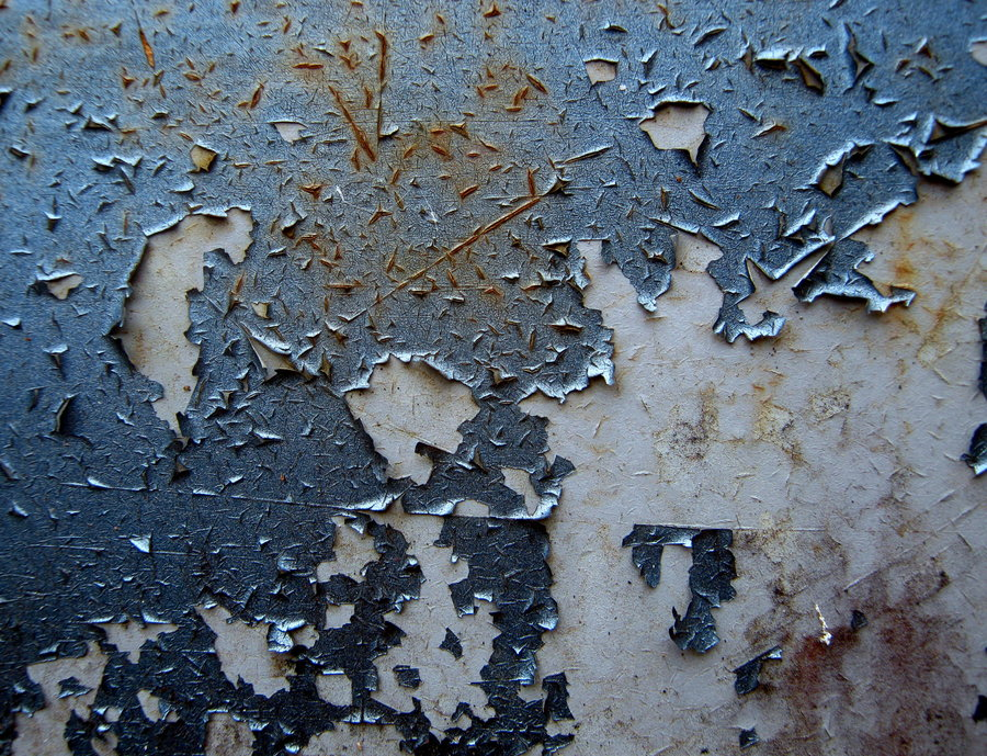 Blue-Peeling-Paint-Stock