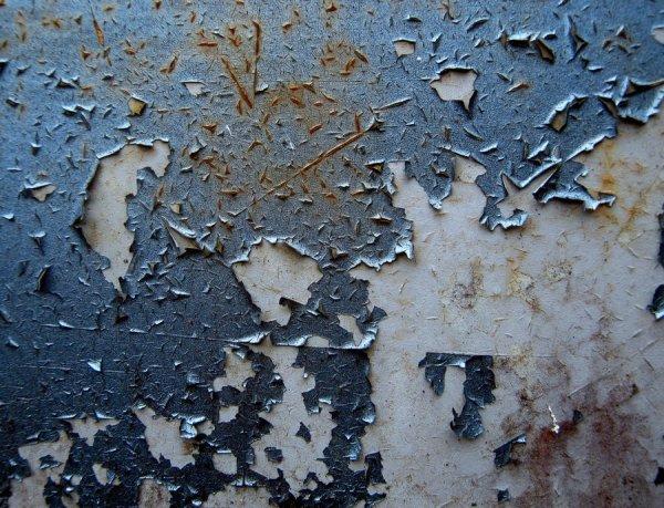 Blue-Peeling-Paint-Stock
