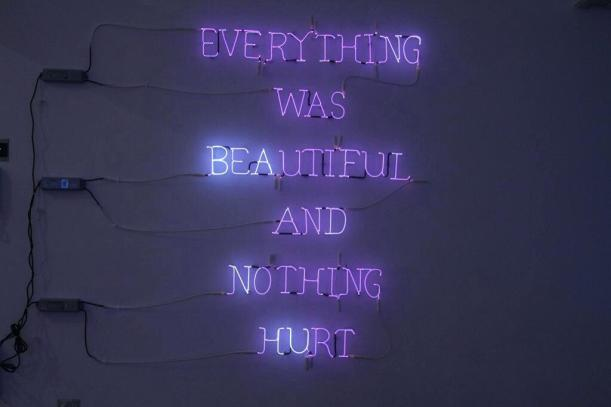 light-up-quotes-everything-was-beautiful-and-nothing-hurt-quote-purple-hot-tube-lights-light-up-city-light-quotes-tumblr