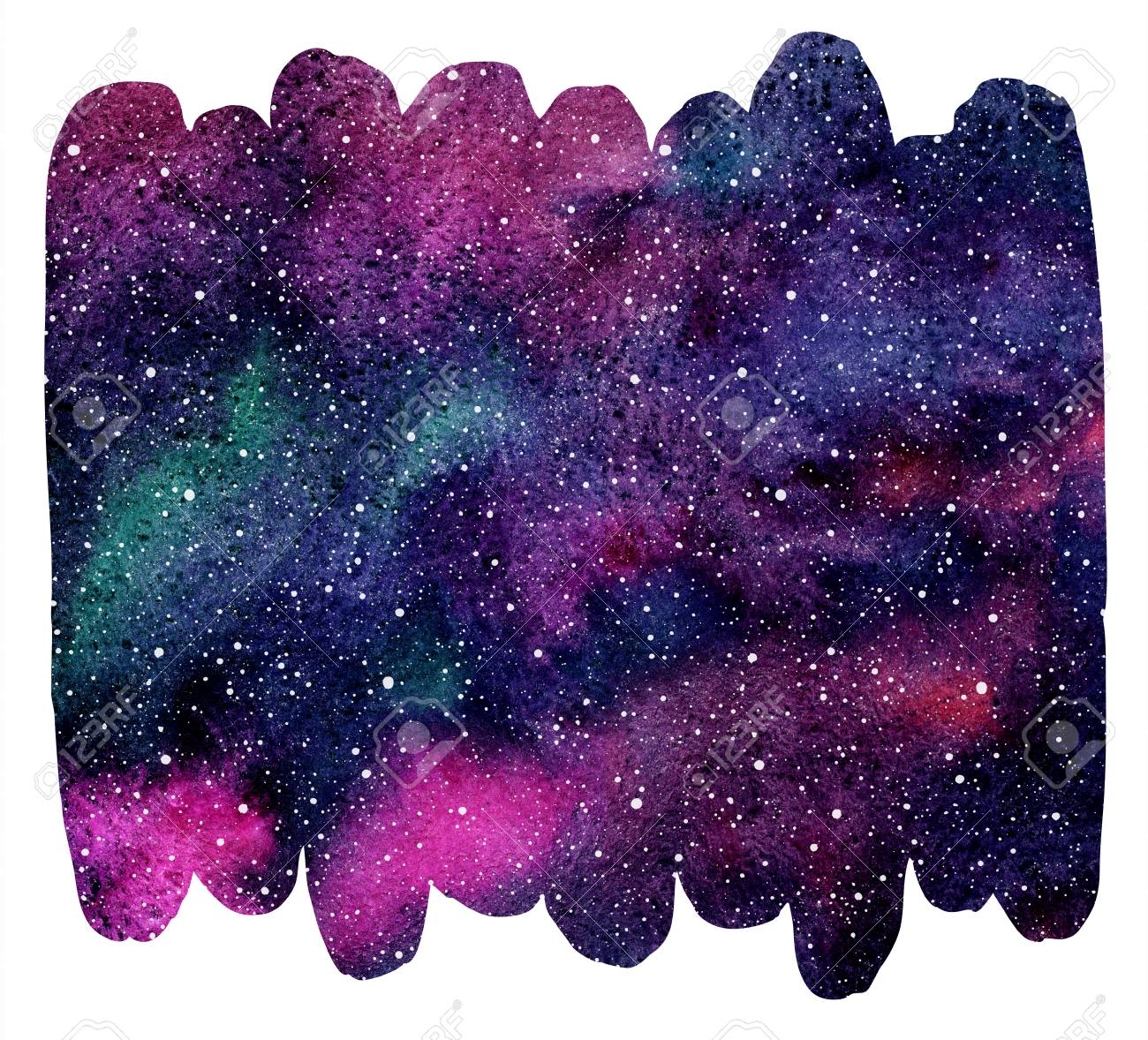 80755036-brush-drawn-shape-cosmic-background-galaxy-universe-or-night-sky-with-stars-and-colorful-watercolor-
